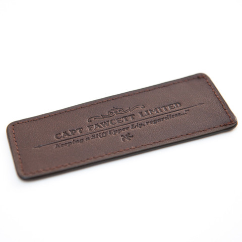 CAPTAIN FAWCETT - Leather Case for Folding Pocket Beard Comb
