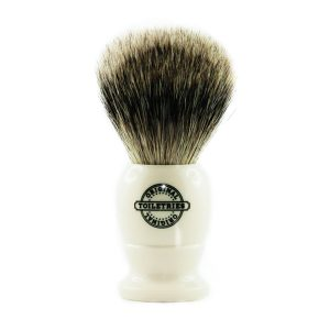 best badger shaving brush ivory