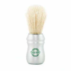 shaving-brush-pure-bleached-bristle-satin-aluminum-handle
